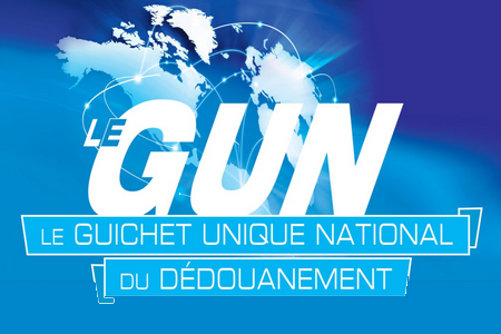 Guichet unique national dedouanement gun