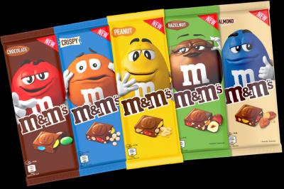 M m s lance 5 recettes de tablette chocolat